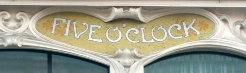 Mosaïques de la façade Art nouveau de l'immeuble Félix Potin, rue de Rennes