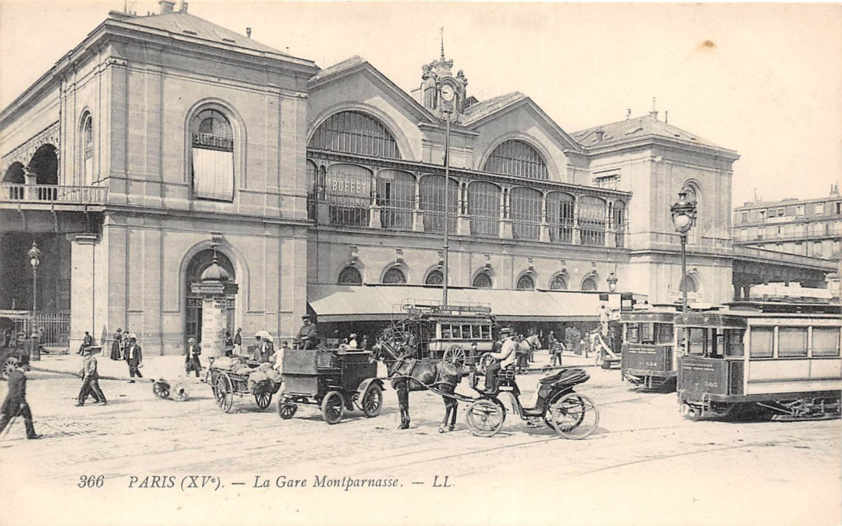 Les différentes gares Montparnasse