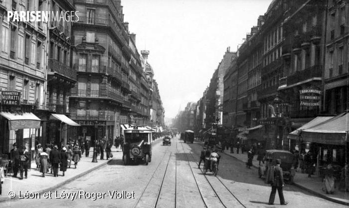 Rue de Rennes à Paris, vers 1900