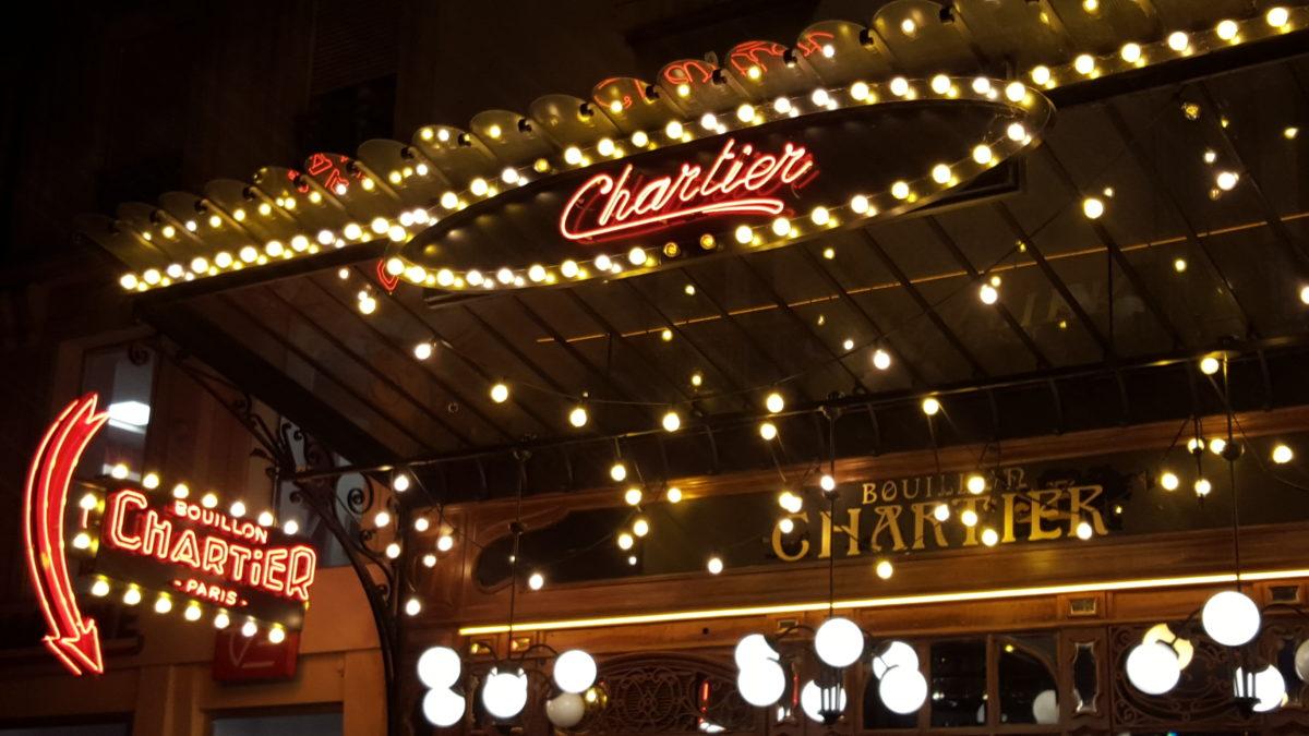 Le Bouillon Chartier de Montparnasse
