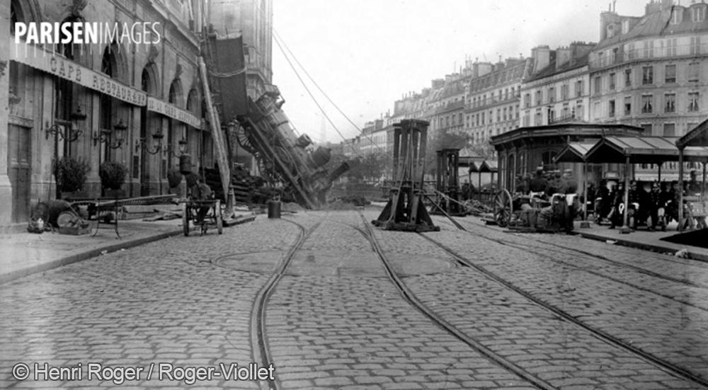 Accident ferroviaire à la gare Montparnasse du 22 octobre 1895