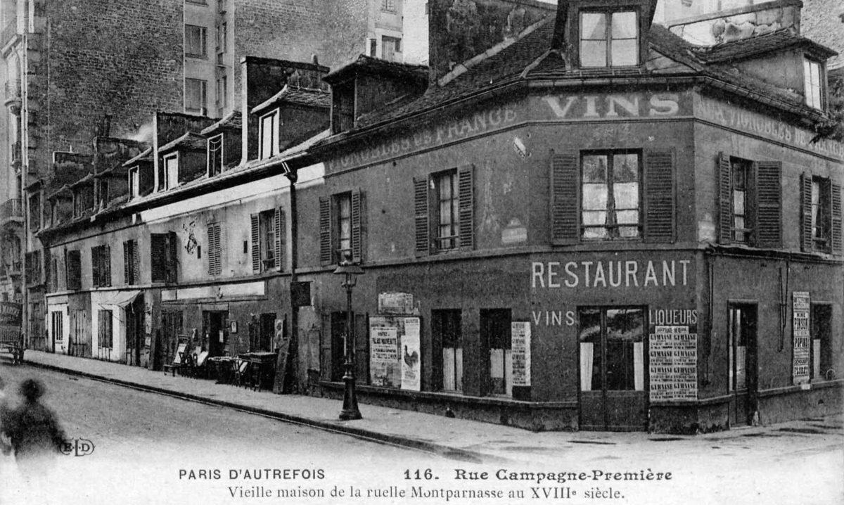 Le Jockey ou le western à Montparnasse