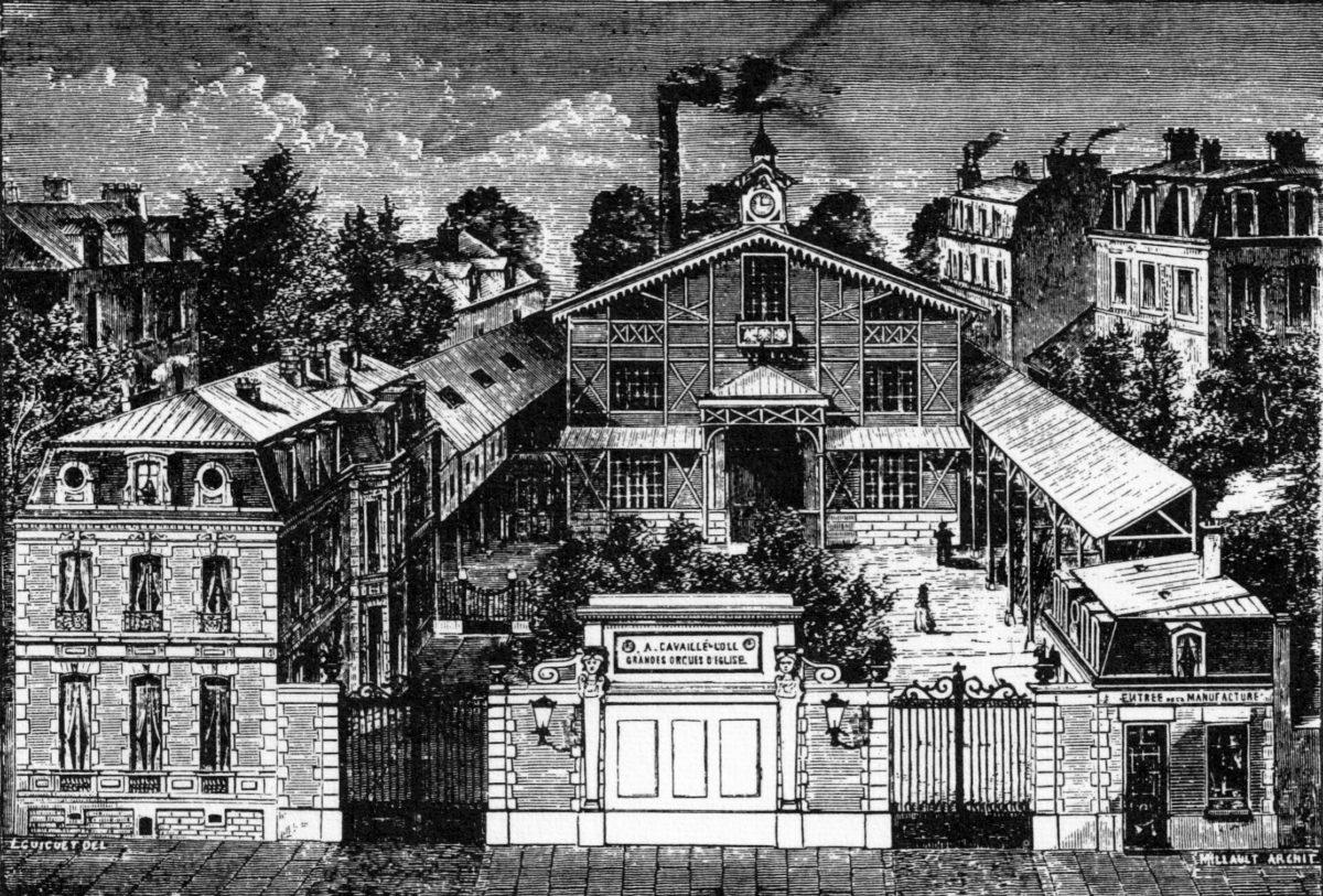 La manufacture d'orgues Cavaillé-Coll