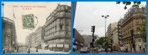 Rue de l'Arrivée depuis le bd du Montparnasse