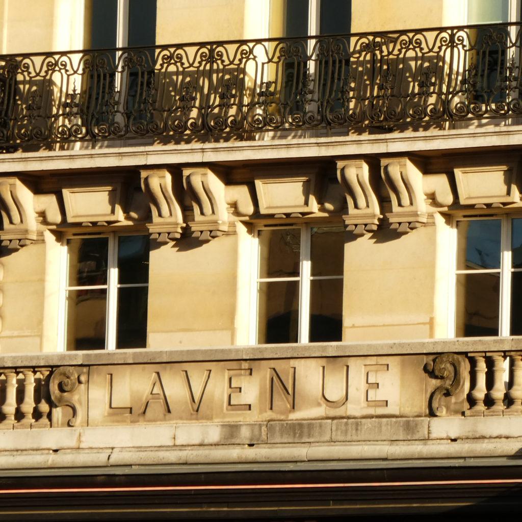 Lavenue, façade du 1-3 rue du Départ