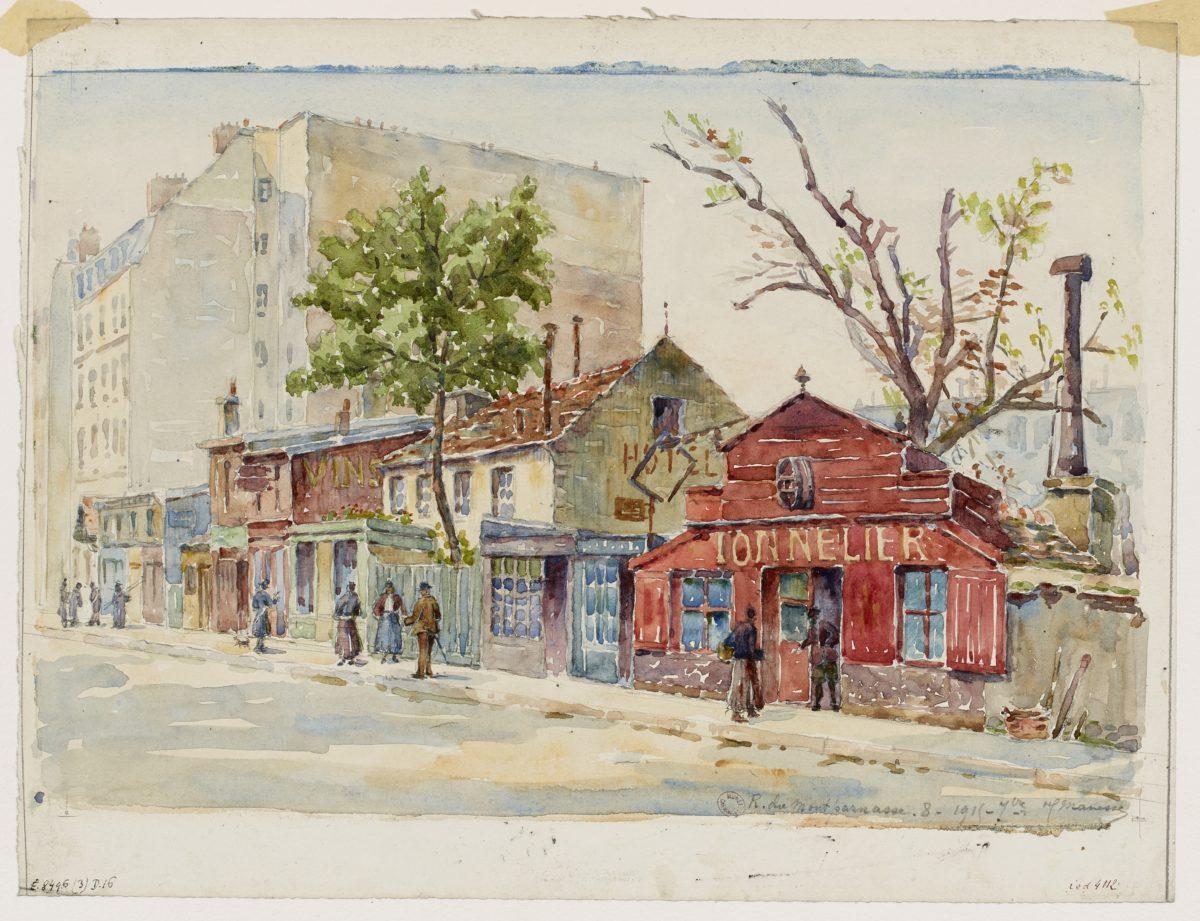 Montparnasse en peinture